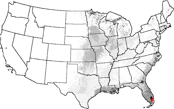 Representativeness And Network Site Analysis Based On Quantitative - Everglades on us map